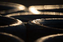 Tire barrier detail