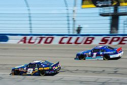 Chase Elliott, JR Motorsports 雪佛兰, Elliott Sadler, Roush Fenway Racing 福特