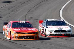 Kyle Larson, HScott 雪佛兰车队, Brad Keselowski,Penske福特车队