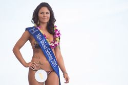 Lovely contestant in the famous Sebring Bikini Contest