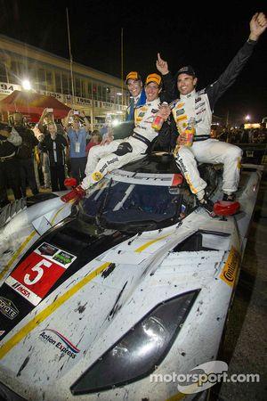 Race winners #5 Action Express Racing Corvette DP: Joao Barbosa, Sébastien Bourdais, Christian Fitti