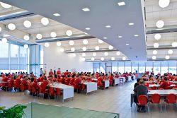 Restaurante en la fábrica de Ferrari