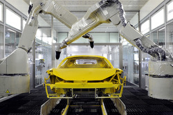 Ferrari en cours de construction