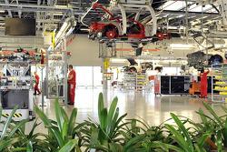 Ligne d'assemblage Ferrari