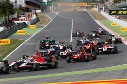 Le GP3 à Barcelone
