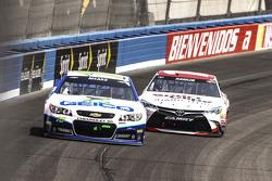 Casey Mears, Germain Racing, Chevrolet, Denny Hamlin, Joe Gibbs Racing, Toyota