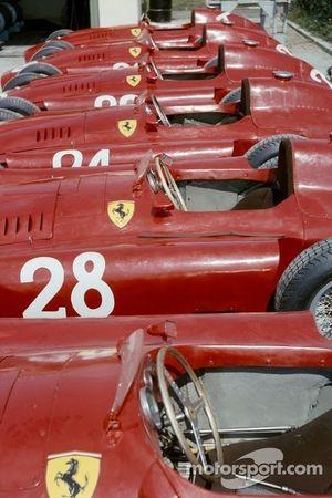 Команда Ferrari в Монце