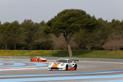 #86 Gulf Racing UK Porsche 911 RSR: Michael Wainwright, Adam Carroll, Ryan Cullen, Ben Collins