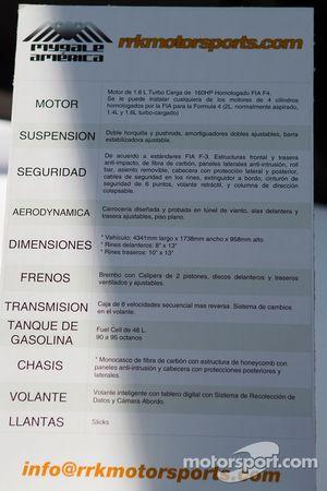 Especificaciones Auto F4