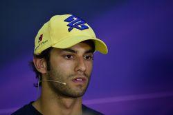 Felipe Nasr, Sauber F1 Team in the FIA Press Conference
