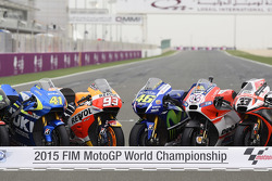 Photo de groupe MotoGP 2015