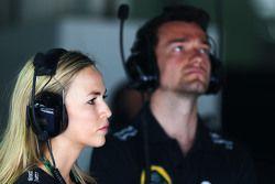 Кармен Хорда и Джолион Палмер, Lotus F1 Team