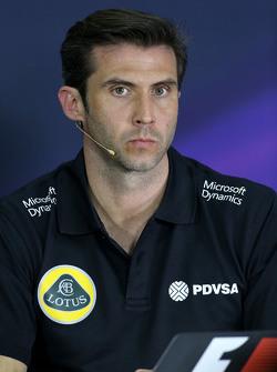 Мэтью Картер, генеральный директор Lotus F1 Team