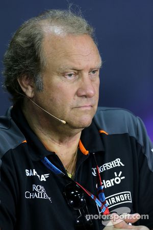 Роберт Фернли, заместитель руководителя Sahara Force India F1 Team