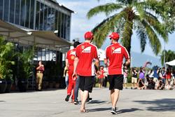 Кими Райкконен, Ferrari с напарником по команде - Себастьяном Феттелем, Ferrari