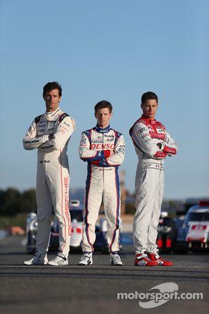 Mark Webber, Porsche Takımı, Anthony Davidson, Toyota Racing, Loic Duval, Audi Sport - Takım: Joest