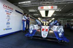 #2 Toyota Racing Toyota TS040 Hybrid: Alexander Wurz, Stephane Sarrazin, Mike Conway