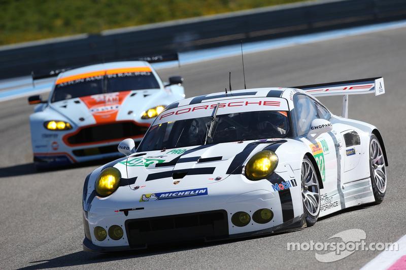#92 Porsche Team Manthey, Porsche 911 RSR: Patrick Pilet, Frederic Makowiecki, Wolf Henzler