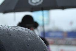 Slicks in de regen