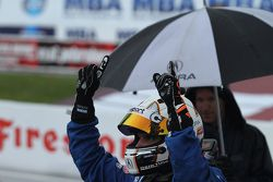 Pole winner Ryan Eversley, RealTime Racing Acura TLX-GT