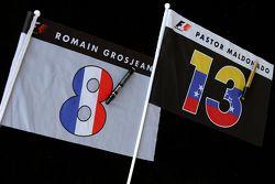 Romain Grosjean, Lotus F1 Team, und Pastor Maldonado, Lotus F1 Team