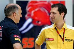 Franz Tost, Scuderia Toro Rosso, Team Principal et Remi Taffin, Renault Sport F1