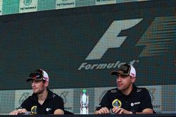 Ромен Грожан, Lotus F1 Team з Пастор Мальдонадо, Lotus F1 Team
