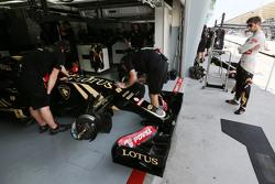 Ромен Грожан Lotus F1 Team