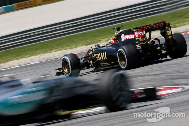 Гран При Малайзии, 29 марта. Ромен Грожан
