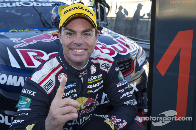 El ganador, Craig Lowndes, Triple Eight Race Engineering Holden