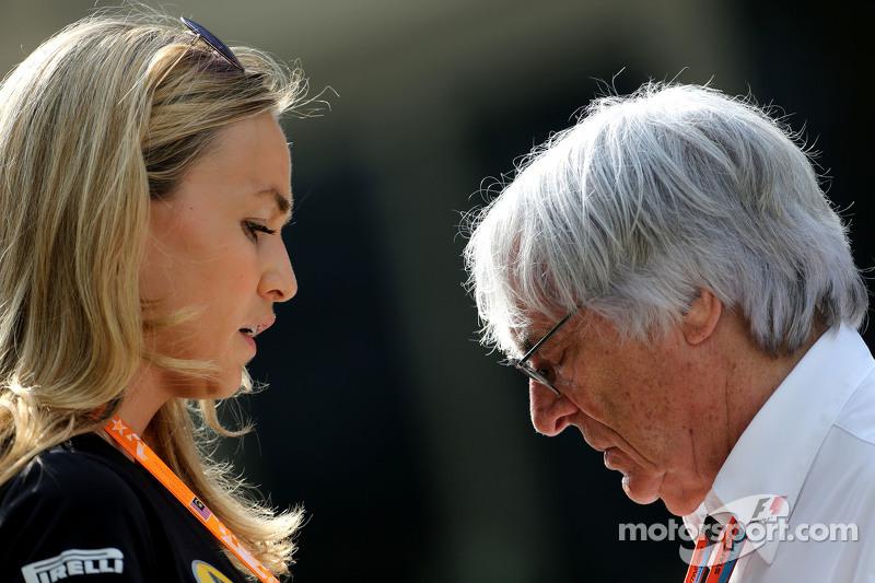 Carmen Jorda, Piloto de desarrollo de Lotus F1 y Bernie Ecclestone