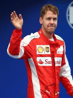 Sebastian Vettel, Ferrari gets 3rd place in Qualifying