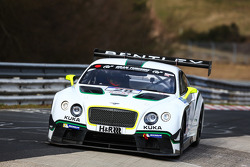 #28 Bentley Team Bentley Continental GT3: Harold Primat, Christopher Brück