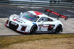 #15 Phoenix Racing, Audi R8 LMS: Marc Basseng, Mike Rockenfeller, Christopher Haase, Frank Stippler