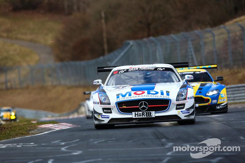 #13 Zakspeed, Mercedes-Benz SLS AMG GT3: Luca Ludwig, Sebastian Asch, Tom Coronel