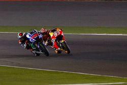 Jorge Lorenzo, Yamaha Factory Racing and Marc Marquez, Repsol Honda Team;
