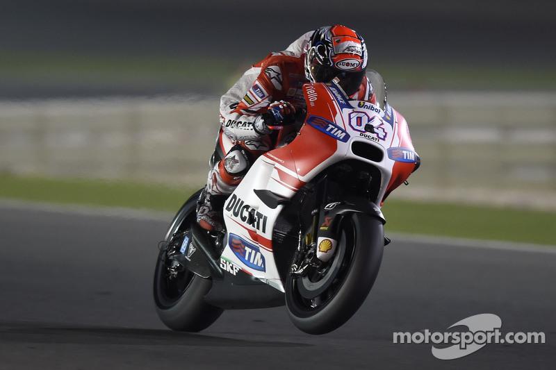 Moins d'essence pour Ducati