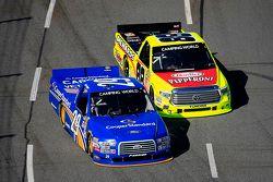 Joey Logano, Brad Keselowski Racing Ford, Matt Crafton, ThorSport Racing Toyota
