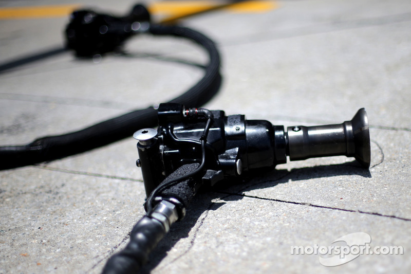 Lotus F1 Team pistolas pit stop