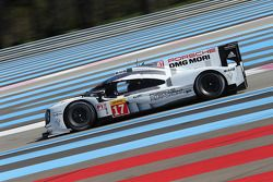#17 Porsche Team Porsche 919 Hybrid: Тимо Бернхард, Марк Уэббер и Брендан Хартли