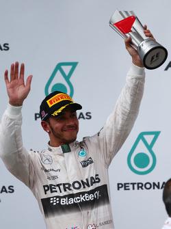 Second place Lewis Hamilton, Mercedes AMG F2