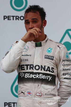 Second place Lewis Hamilton, Mercedes AMG F1