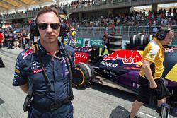 Christian Horner, Red Bull Racing Team Principal on the grid