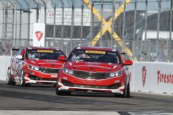 #36 Kinetic Motorsports / Kia Racing, Kia Optima: Ben Clucas