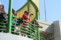Fotoğrafçılar yüksek açıda