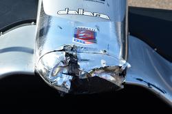Le nez d'une voiture de chez Andretti Autosport