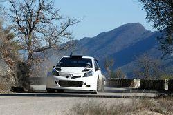 Toyota Yaris WRC testte