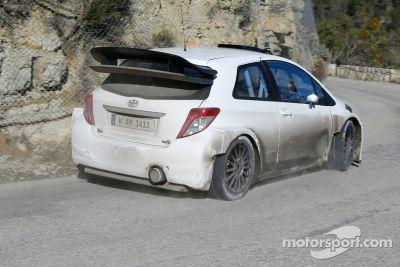 Tests Toyota Yaris WRC