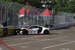 #23 M1 Racing Audi R8 LMS: Walt Bowlin kaza