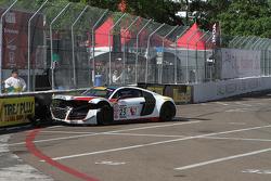 #23 M1 Racing, Audi R8 LMS: Walt Bowlin mit Unfall
